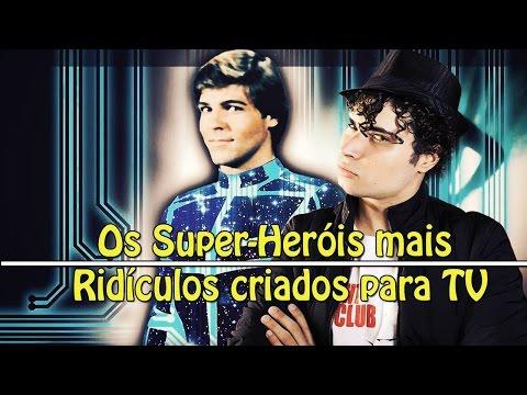 Os Super-Heróis mais RIDÍCULOS criados para TV