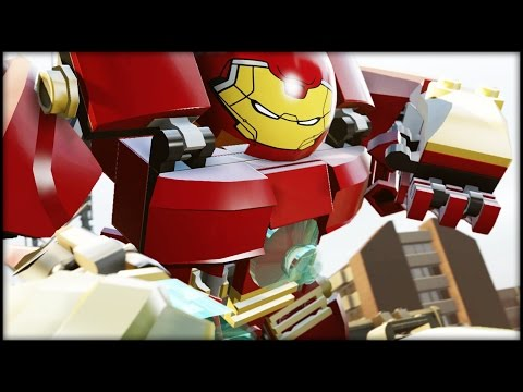 LEGO MARVEL AVENGERS - 100% Complete Level Guide - Anger Management!