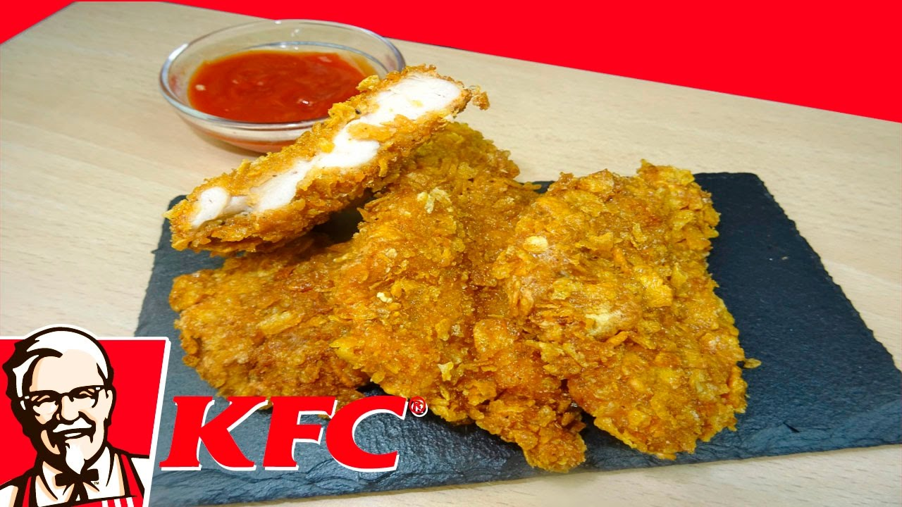 Pollo Crispy Al Estilo Kfc Receta Facil Y Deliciosa Youtube