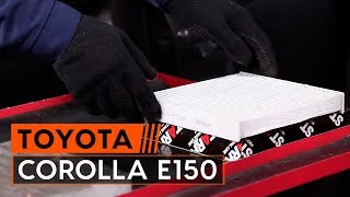 TOYOTA COROLLA Saloon (E15_) Felfüggesztés beszerelése: ingyenes videó