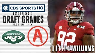 Quinnen Williams will provide ways for the Jets to win immediately  | NFL Draft 2019 | CBS Sports HQ