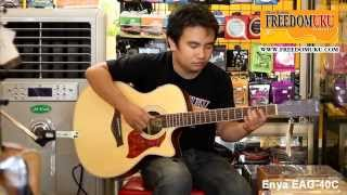 Enya EAG-40C Review by Freedom Uku Music