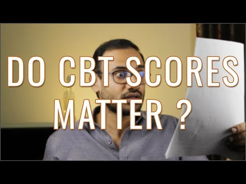 Do Test Scores Matter ? - CBT, Grand Tests, Mock Exams etc