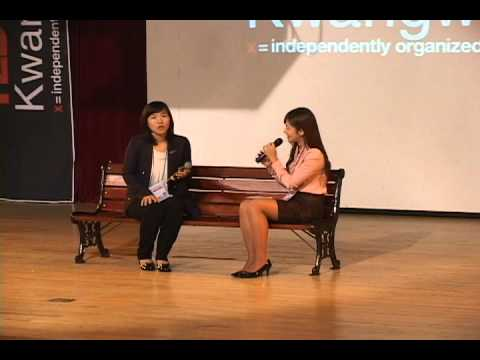 My life as first Korean woman baseball player: Hyang-Mi Ahn at TEDxKwangwoon