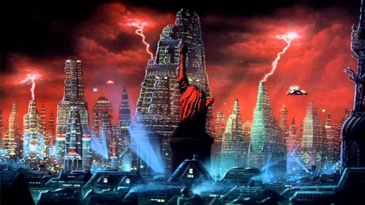 Image result for mars attacks city