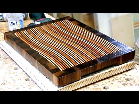 3d end grain cutting board plans. making a 3d end grain cutting board #11 3d plans