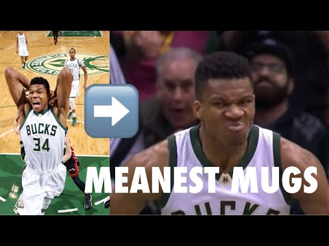 "NBA ""Meanest Mugs"""