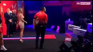 Devon Petersen brilliant walk on and dance!