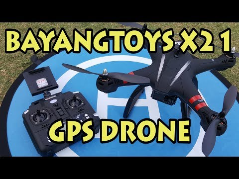 BayangToys X21 GPS Drone Review
