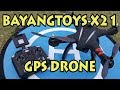 BayangToys X21 GPS Drone Review の動画、YouTube動画。