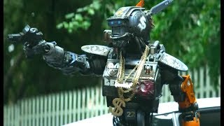 大金链子加喷漆,这是科幻片中最有痞气的机器人