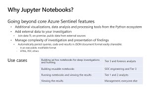 Threat Hunting in the Cloud with Azure Sentinel and Jupyter Notebooks | THR2159