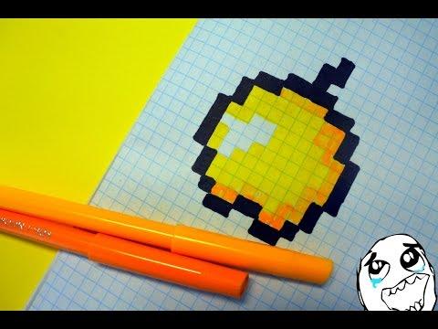 Как нарисовать Крипера из Майнкрафта карандашом поэтапно