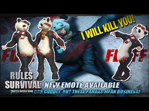 PANDAS ARE SCARY!! - Rules of Survival