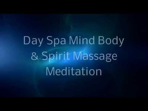Meditation Massage Table | Spoken Guided Relax Chakra Experience at the massage spa