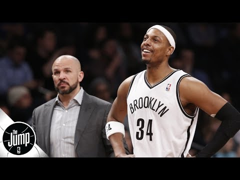 Paul Pierce: Jason Kidd didn't draw up plays early in first year as coach | The Jump