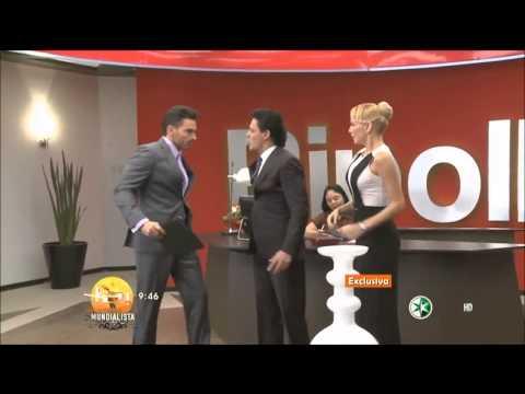 Pedro Fernández y Marjorie de Sousa Primer Beso en Hasta El Fin Del Mundo   Programa HOY HD