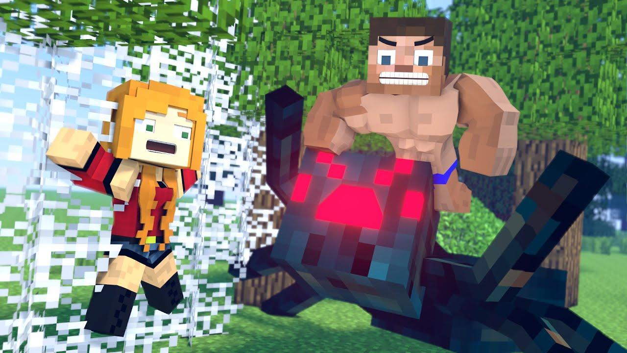 The minecraft life of Steve and Steve | Brave Steve | Minecraft animation