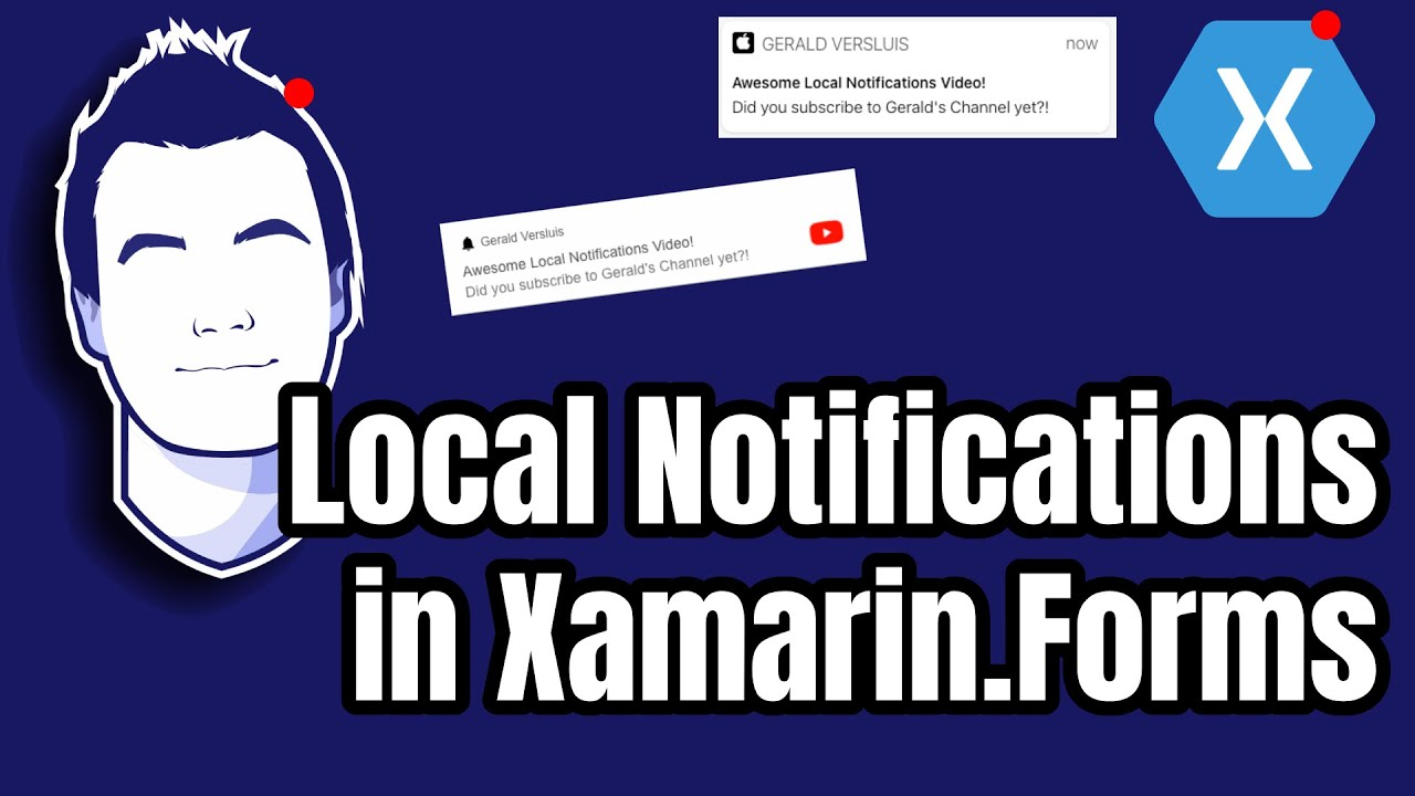 Local Push Notifications in Xamarin.Forms