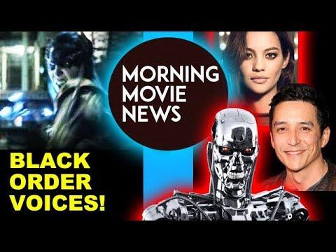 Infinity War Black Order Voice Actors, Terminator 6 Gabriel Luna & Natalia Reyes