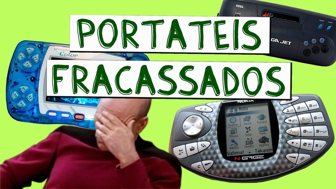 CONSOLES FRACASSADOS #2 - PORTÁTEIS - YouTube