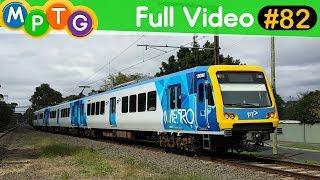 Melbourne's Metro and V/Line trains (Full Video #82)