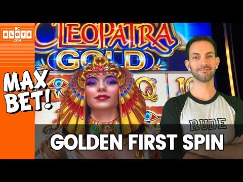 🥇 A GOLDEN First Spin, Cleo 💰 $1800 @ El Cortez Casino ✪ BCSlots (S. 6 • Ep. 3)