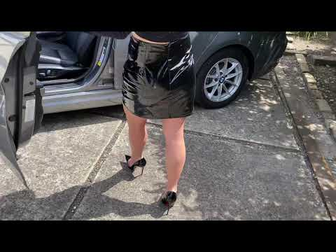 Driving in Louboutin Heels by Shiny Lexie
