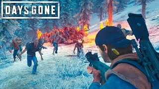 Hordes Are Easy  F You Have This...   Days Gone Survival Mode