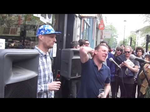 Sleaford Mods - Fizzy - Rough Trade West, Record Store Day April 19th 2014