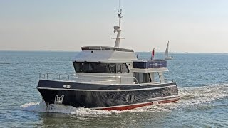 Privateer Trawler 54 | Sailing with the Dutch steel Trawler yacht - Custom built