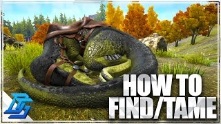 Ark: Survival Evolved - How to Find Megalosaurus , How To Tame Megalosaurus