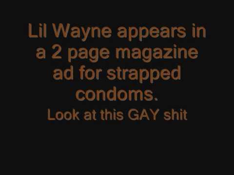 lil wayne strapped condom ad jpg 1080x810