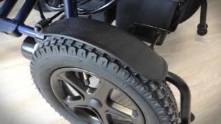видео Электрическая инвалидная коляска Ortonica Pulse 170