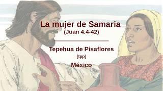 Tepehua de Pisaflores - La mujer de Samária (Juan 4.4-42) [tpp]