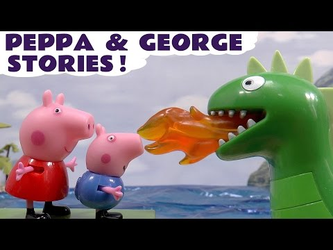 Peppa Pig English Episodes Thomas & Friends Play Doh toys  Hello Kitty & Kinder Surprise Eggs