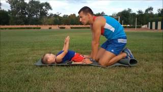 Тренировки для  для детей развивающие упражнения для маленьких от 3 лет