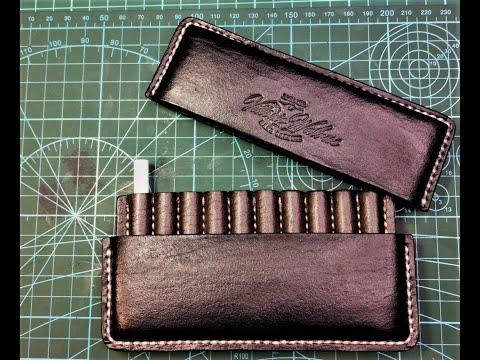 Портсигар из кожи (cigarette Case)