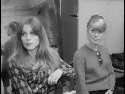 Les Demoiselles de Rochefort (1967) behind the scenes