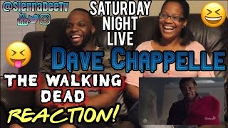 SNL Dave Chappelle as Negan from The Walking Dead Reaction