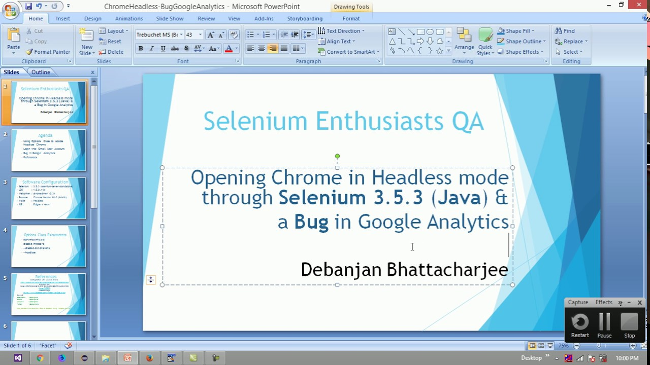 Login into Gmail Account using Headless Chrome through Selenium Java and a  Bug in Google Analytics