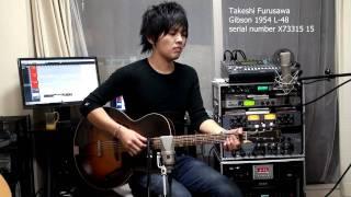 Blues guitar Gibson 1954 L-48 古澤剛 Takeshi Furusawa ギブソン L48 ギブソン 検索動画 27