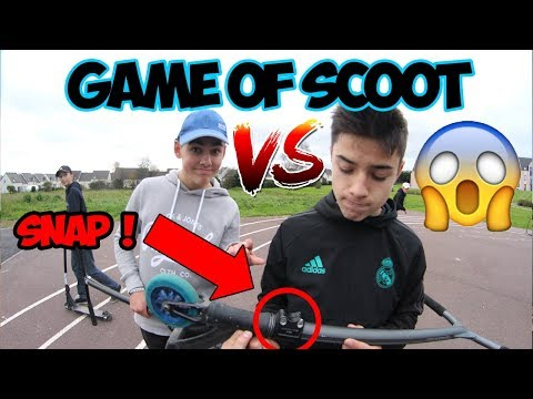 [FR] GAME OF SCOOT FLAT Valentin Martinez VS Thomas Dumont (Bar Snap)