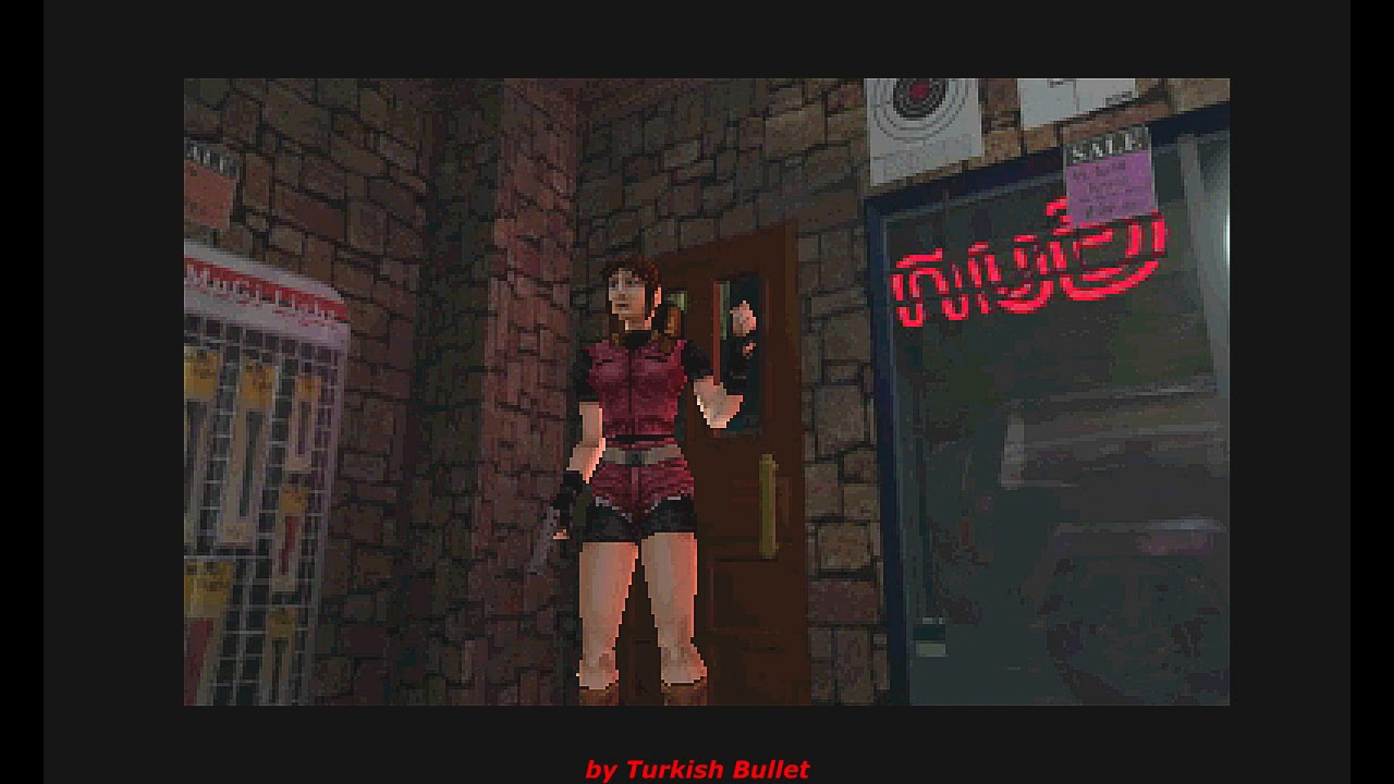 Resident Evil 2 D S V Playstation Longplay Claire