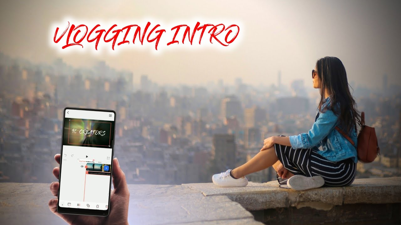 🔥How to Make INTRO with FilmoraGo in Mobile | Make Vlogging Intro in Android