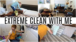CLEAN WITH ME 2019 | TIME LAPSE SPEED CLEANING AND LAUNDRY MOTIVATION