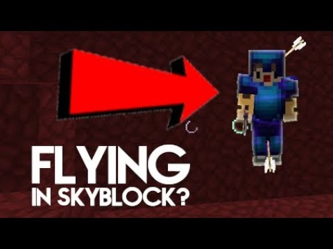 How to FLY on your island in Hypixel SkyBlock?