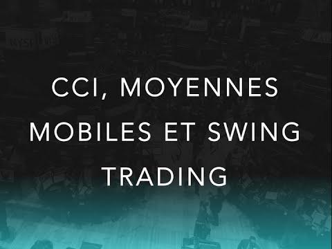 Technique de swing trading avec les moyennes mobiles et le CCI