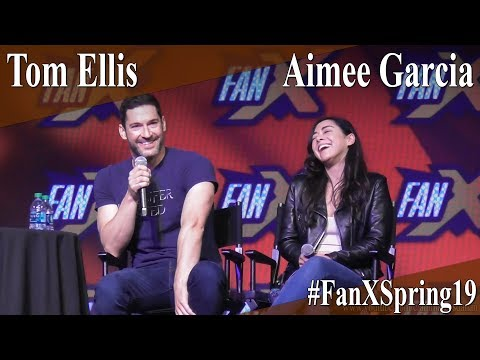 Tom Ellis & Aimee Garcia - Lucifer Full Panel/Q&A - FanX Spring 2019