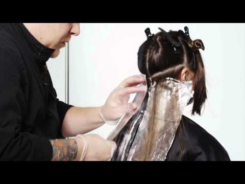 Matrix Hair Color How-To Tutorial: SOCOLOR Walnut Ombre Using a Balayage Technique